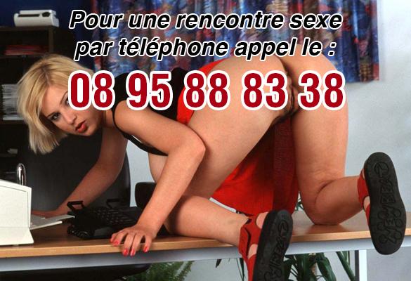 Plan cul de sexe par téléphone
